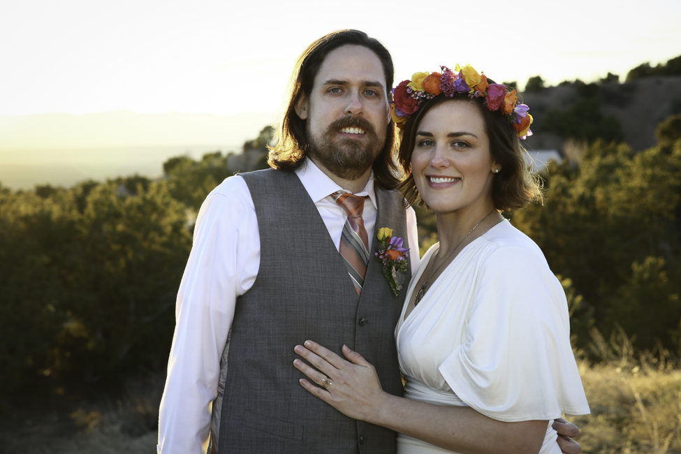 Melanie West wedding photography, Santa Fe